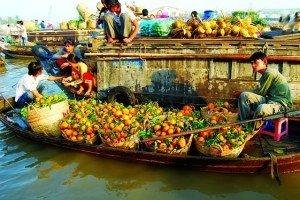 Marche de Cai Rang Can Tho