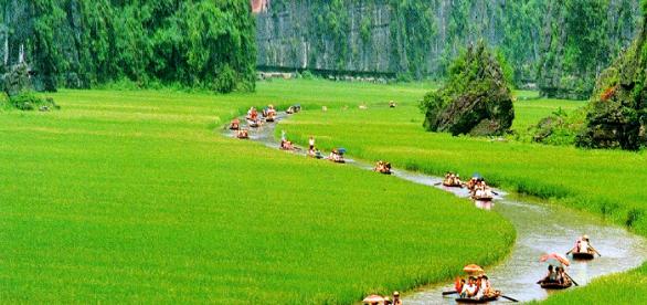 Balade en barque Tam Coc Trang An