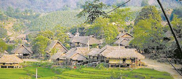 Village à Mai Chau