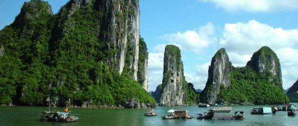 La baie d'Halong du Vietnam