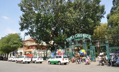 Le zoo et jardin botanique de Saigon