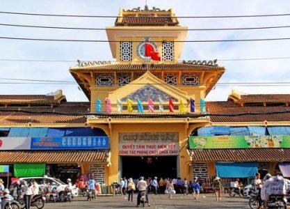 Visite quartier de Cho Lon