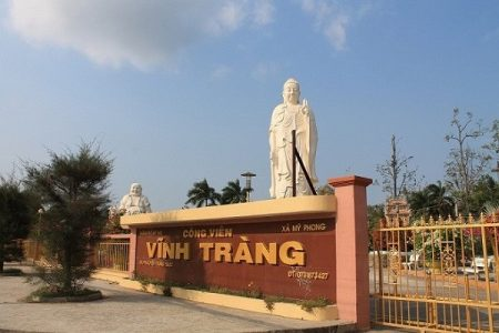 Visite pagode de Vinh Trang My Tho