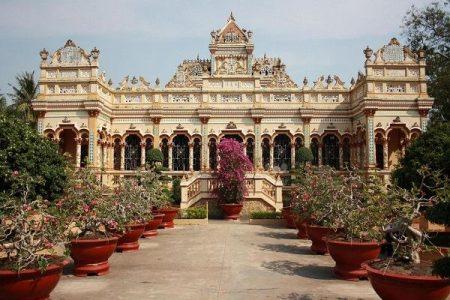 Voyage pagode Vinh Trang My Tho