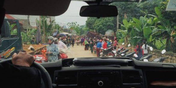 Voiture chauffeur privé à Saigon