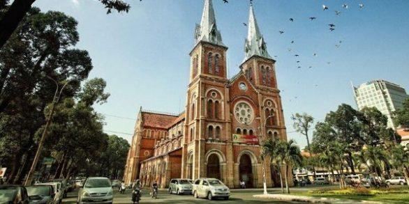 Cathédrale de Notre Dame Saigon