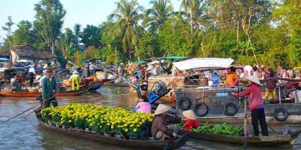 attractions touristiques dans le delta du Mékong